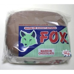 Porcelana Fria Fox 1000gr. - Marron Chocolate