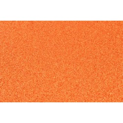 Goma Eva Glitter 60x40 2mm color Naranja