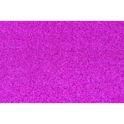 Goma Eva Glitter 60x40 2mm color Fucsia