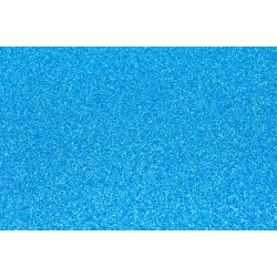 Goma Eva Glitter 60x40 2mm color Azul