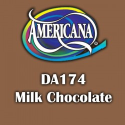 Pintura acrílica Americana 59 ml. Milk Chocolate DA174