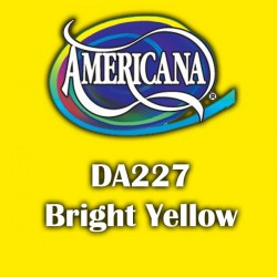 Pintura acrílica Americana 59 ml. Bright Yellow DA227