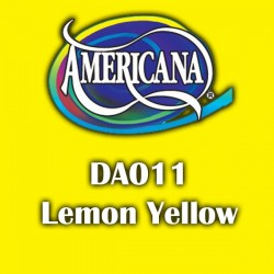 Pintura acrílica Americana 59 ml. Lemon Yellow DA011