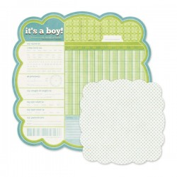 "Papel Doble Cara - ""Its a Boy"""