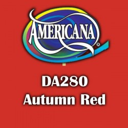 Pintura acrílica Americana 59 ml. Autumn Red DA280