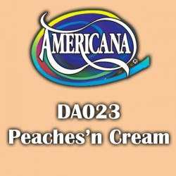 Pintura acrílica Americana 59 ml. Peaches n Cream DA023