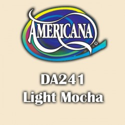 Pintura acrílica Americana 59 ml. Light Mocha DA241
