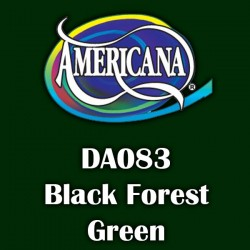 Pintura acrílica Americana 59 ml. Black Forest Green DA083