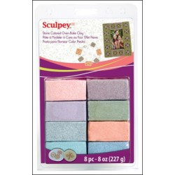 Estuche Sculpey Granitex 8pc 28gr