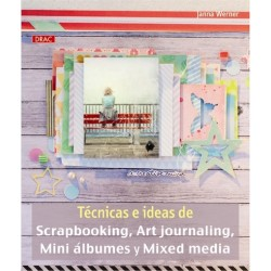 Tecnicas e ideasde Scrapbooking, Art journaling, Mini Albunes y Mixed Media