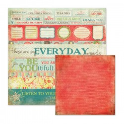 Papel 1 Cara Anthologie - Every Day Moments 30.5 x 30.5 cm