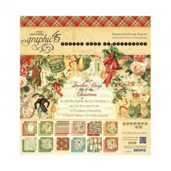 Pack de Papeles Grafic 45 - 12 Days of Christmas 30.5x30.5cm