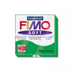 Fimo Soft 56gr Verde Tropical -53-