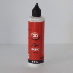 Pintura Relieve Line 3D Basico -Blanco- 100 ml
