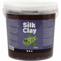 Silk Clay 650gr. - Marrón