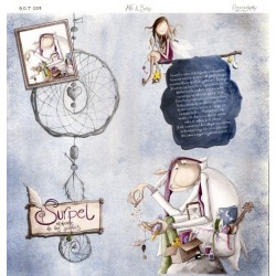 Papel Arte & Scrap - Serendepity - Surpel