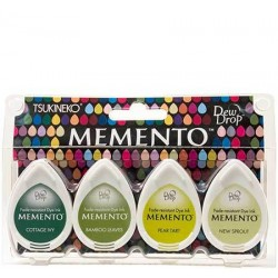 Set 4 Almohadillas Memento 50gr - Greenhouse