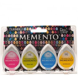 Set 4 Almohadillas Memento 50gr - Beach Party