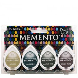 Set 4 Almohadillas Memento 50gr - Central Park