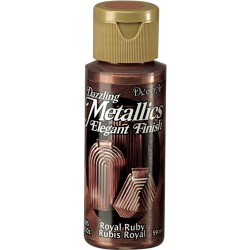 Pintura metalizada Americana 59 ml. Royal Ruby DA074