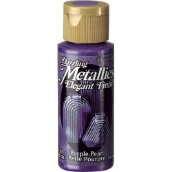 Pintura Metalizada Americana 59 ml. Purple Pearl DA124