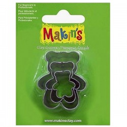 Cortadores de Ositos 3pc. Makin′s