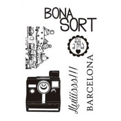 "Sellos Silicona A6 - Cat. ""Bona Sort"""