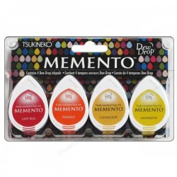 Set 4 Almohadillas Memento 50gr - Camp Fire