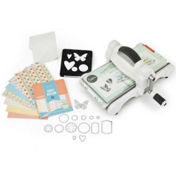 Sizzix Big shot Kit de iniciación Azul - Powder Blue & Teal by Ellinson
