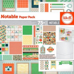 Pack 75 Piezas Scrapbooking - Notable
