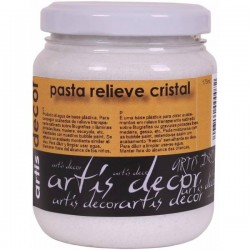 Pasta Relieve Cristal - Artis Decor 175ml.