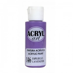 Pintura Acryl-Art 60ml - Espliego