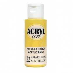 Pintura Acryl-Art 60ml - Amarillo Sol