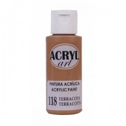 Pintura Acryl-Art 60ml - Terracota