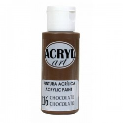 Pintura Acryl-Art 60ml - Chocolate