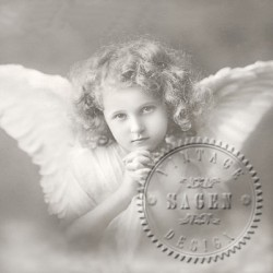 Servilleta Vintage Angel 33x33 cm