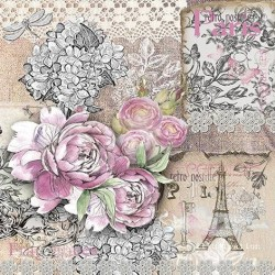 Papel de Sublimacion 30 x 30cm - Live in Love