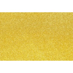 Goma Eva Glitter 60x40 2mm color Oro