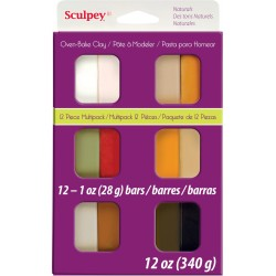 Sculpey III Kit 12 Pastillas Naturales 28 gr