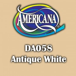Pintura acrílica Americana 59 ml. Antique White DA058