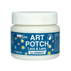 ART potch Pintura y pegamento mica 150ml 49651