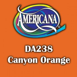 Pintura acrílica Americana 59 ml. Canyon Orange DA238