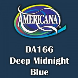 Pintura acrílica Americana 59 ml. Deep Midnight Blue DA166
