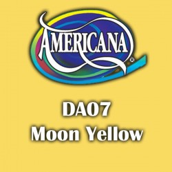 Pintura acrílica Americana 59 ml. Moon Yellow DA07