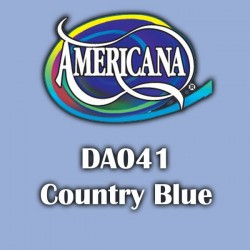 Pintura acrílica Americana 59 ml. Country Blue DA041