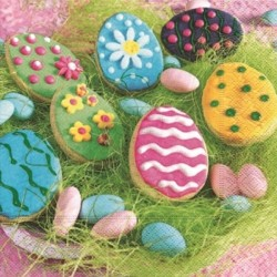 Servilleta Easter cookies 33x33cm
