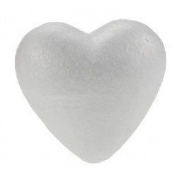 Corazon 40mm Porex Corcho blanco