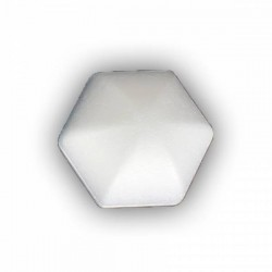 Bola Hexagonal 100mm Porex-Corcho blanco