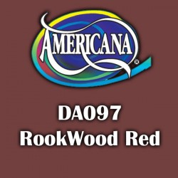 Pintura acrílica Americana 59 ml. Rookwood Red DA097