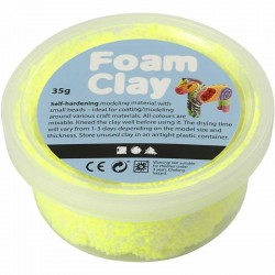 Foam Clay 35gr. - Neon Amarillo